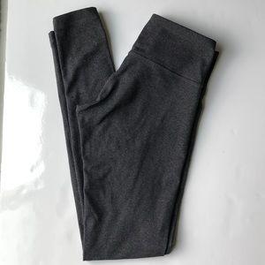 Lululemon Dark Grey Leggings full length size 4